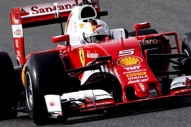 Une première journée d'essais ne fait certes pas une saison mais Ferrari peut... (Agence France-Presse)