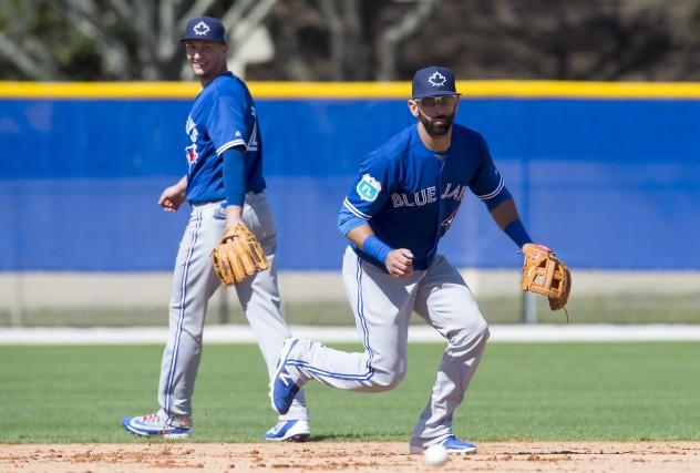 Le voltigeur vedette des Blue Jays de Toronto... (La Presse Canadienne, Frank Gunn)