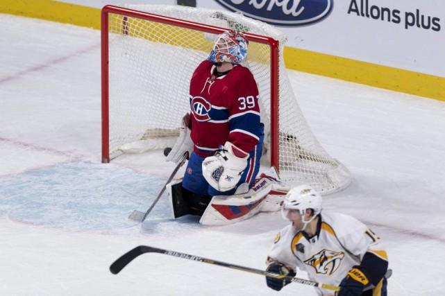 Mike Condon a accordé le but gagnant à... (Paul Chiasson, La Presse Canadienne)