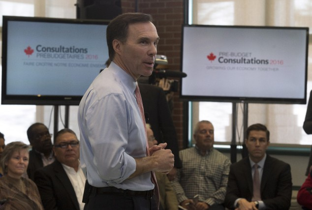 Le ministre des Finances, Bill Morneau, a choisi... (La Presse Canadienne, Adrian Wyld)