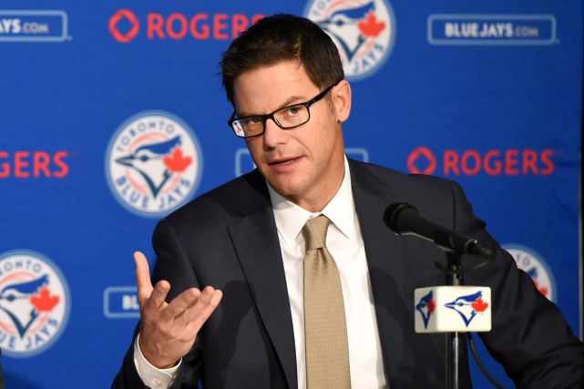 Le directeur général des Blue Jays de Toronto, Ross... (Photo Dan Hamilton, archives USA Today)