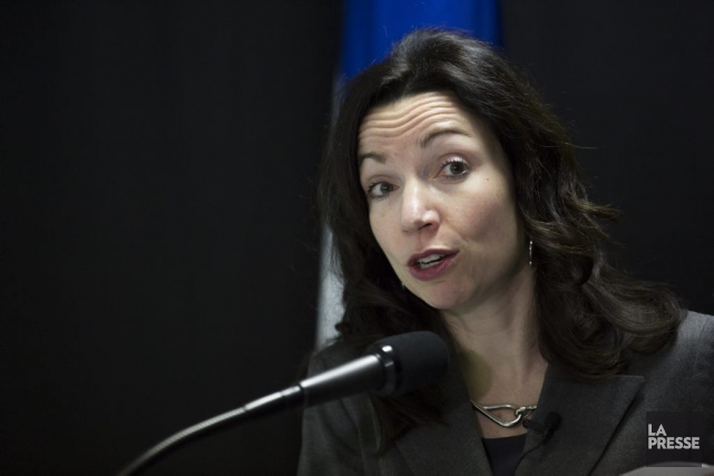 La critique péquiste aux Transports Martine Ouellet.... (PHOTO OLIVIER PONTBRIAND, ARCHIVES LA PRESSE)