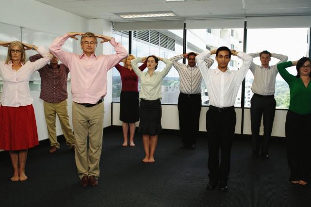 Inutile d'offrir un avantage financier aux employés pour s'entraîner: mieux... (PHOTO THINKSTOCK)