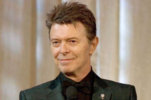 David Bowie est mort le 10 janvier dernier... (PHOTO ARCHIVES AP)