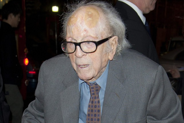 Douglas Slocombe en novembre 2011.... (PHOTO ARCHIVES AP)