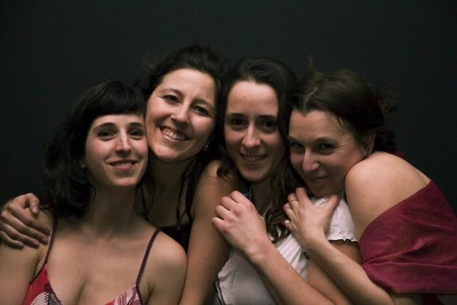 Les Tisserandes: Ève Sano-Gélinas, Patricianne Blanchet, Isabelle Dupras... (photo fournie par Les Tisserandes)