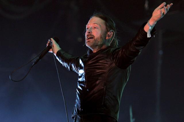 Thom Yorke, du groupe Radiohead, sera sur la... (AP, Chris Pizzello)