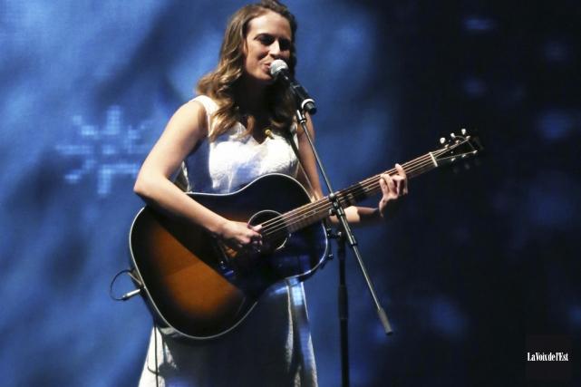 Émilie Janvier sortira son premier album, le 15... (archives La Voix de l'Est)
