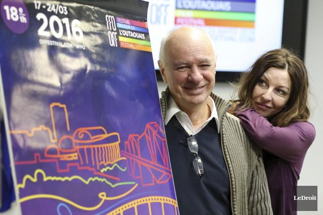 Didier Farré et Renée-Claude Brazeau invitent les cinéphiles... (Patrick Woodbury, LeDroit)