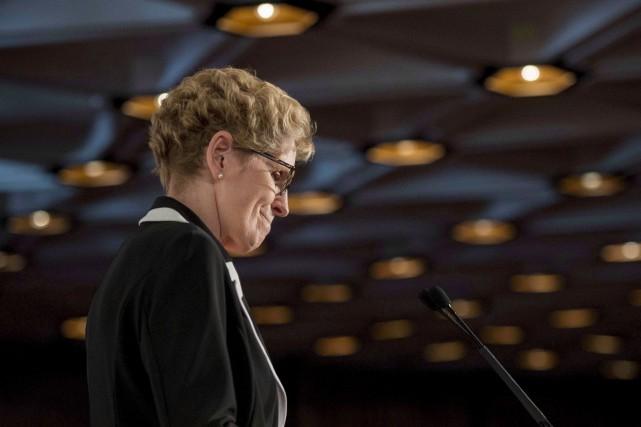 Comme disait KathleenWynne, la communauté franco-ontarienne a fait... (Archives, La Presse Canadienne)