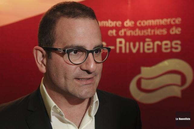 Le président du jury pour le Gala Radisson,... (François Gervais, Le Nouvelliste)
