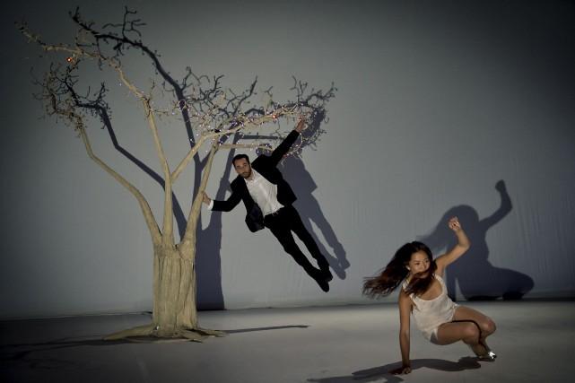 La compagnie de danse Wang Ramirez est l'amalgame... (Courtoisie de Nika kramer)