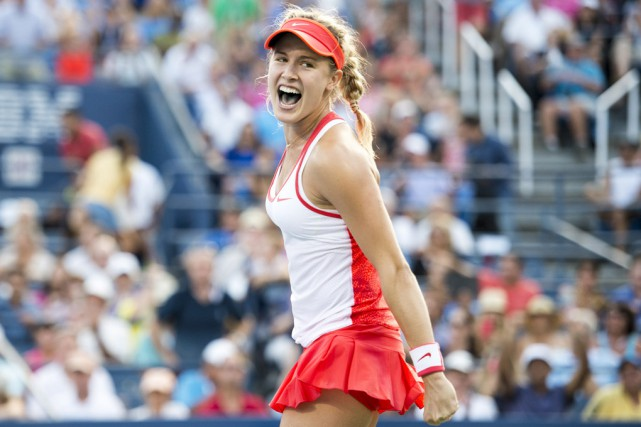 Eugenie Bouchard fera face à la Chinoise Saisai... (archives Associated Press)