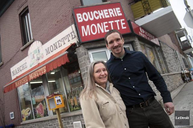 Suzanne Séguin et son fils Charles sont les... (Etienne Ranger, LeDroit)