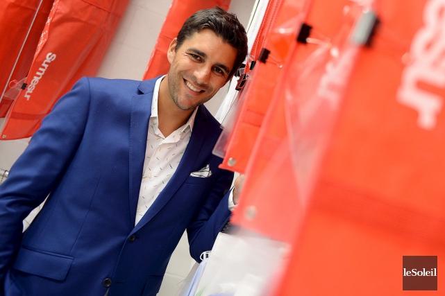 Vincent Thériault, l'un desfondateurs deSurmesur... (Photothèque Le Soleil, Erick Labbé)