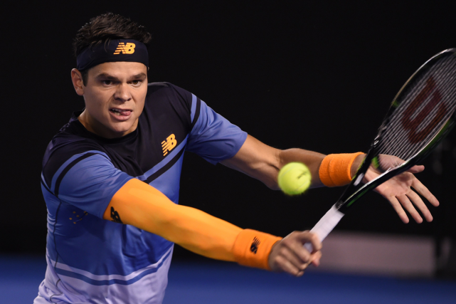 Milos Raonic... (Photo William West, archives AFP)