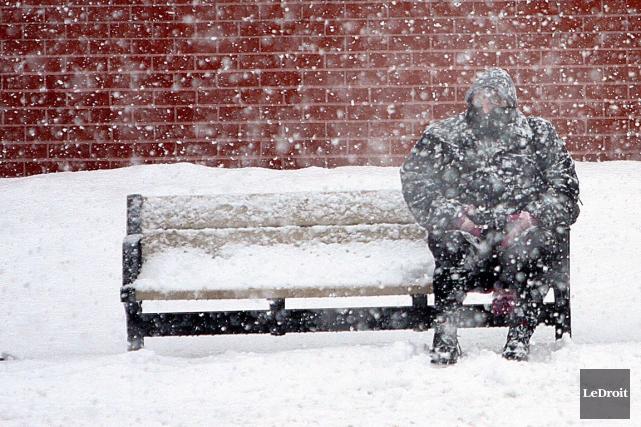Environnement Canada a émis un bulletin météorologique spécial... (Étienne Ranger, LeDroit)