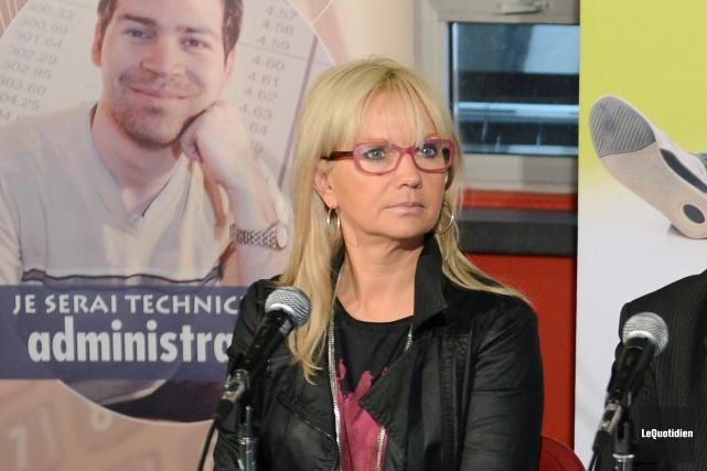 Ex-directrice des études du Cégep de Chicoutimi, Isabelle... (Archives Le Quotidien, Jeannot Lévesque)