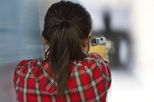 Le tir à l'arme de poing disparaîtra de... (123rf/wasan gredpree)