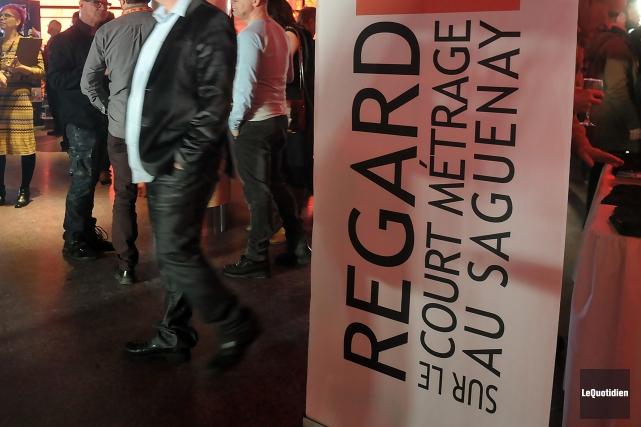 Le festival REGARD sur le court métrage a dévoilé sa programmation, mardi, à... (Archives Le Quotidien, Rocket Lavoie)