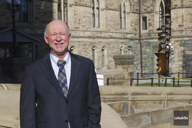 Le député fédéral de Brome-Missisquoi, Denis Paradis... (archives La Voix de l'Est)