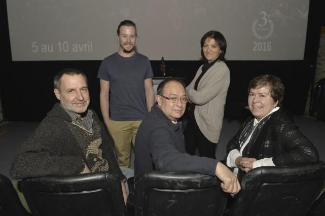 Le nouveau président du jury du Festival Cinéma... (Spectre Média, Maxime Picard)