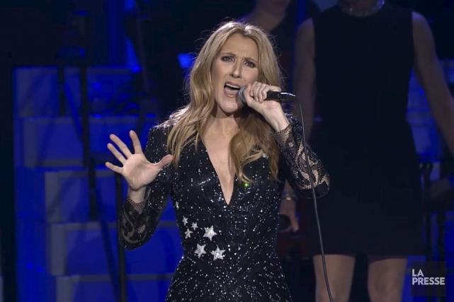 Céline Dion a retrouvé la scène mardi soir,... (Tirée d'Internet)
