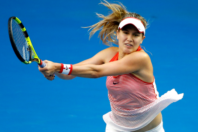 Eugenie Bouchard... (Photo Vincent Thian, archives AP)