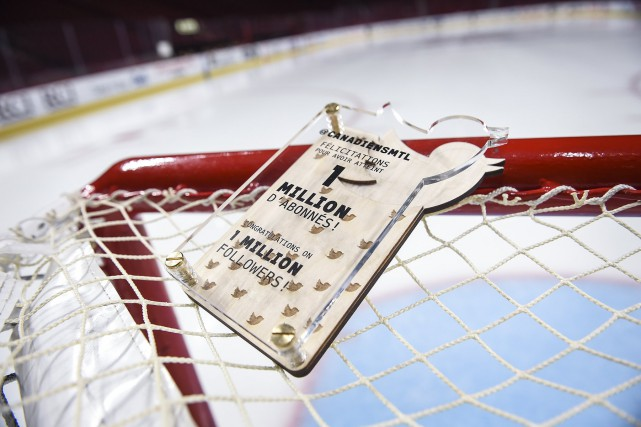 Les Canadiens ont annoncé avoir atteint le million... (Image tirée du fil Twitter des Canadiens de Montréal)