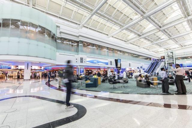 Le Hall D a été inauguré mercredi après... (Photo AFP / Dubai Airport Auhtority)