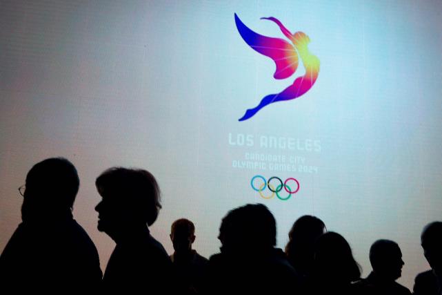 Los Angeles est l'une des quatre villes candidates... (Photo archives AP)
