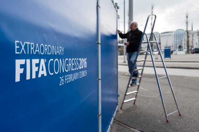 Le congrès de la FIFA pour élire un... (Photo Ennio Leanza, AP)