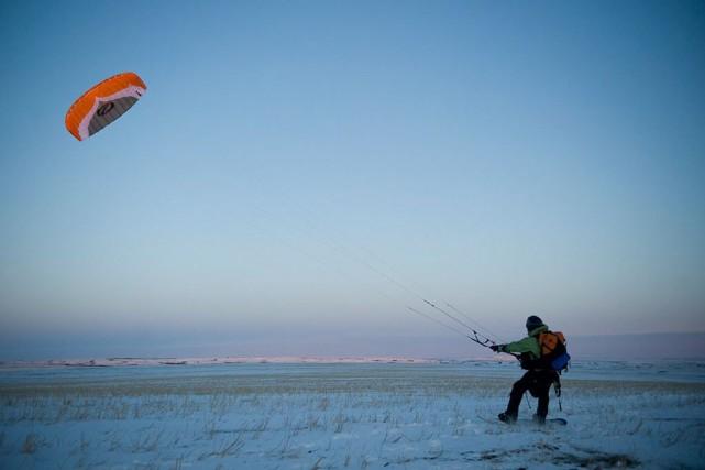 Le kitesnow demande un bon investissement pour s'équiper,... (photo mastertfile)