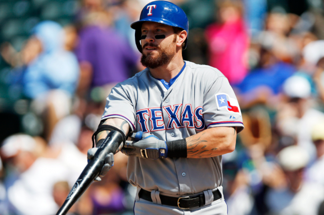 Josh Hamilton... (Photo David Zalubowski, archives AP)