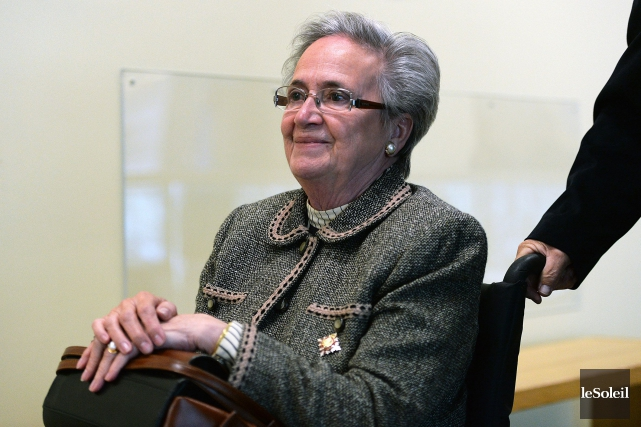 L'ex-lieutenante-gouverneure Lise Thibault... (PHOTO ARCHIVES LE SOLEIL)
