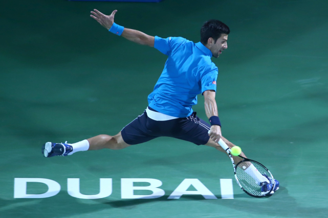 Novak Djokovic... (Photo Marwan Naamani, AFP)