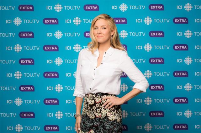 Véronique Cloutier dévoilera lundi les détails de sa nouvelle émission de... (PHOTO FOURNIE PAR RADIO-CANADA)