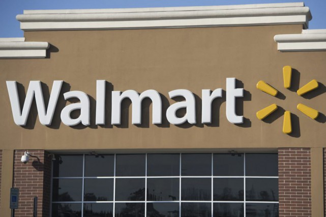 Walmart est accusé d'avoir utilisé un étiquetage mensonger... (PHOTO SAUL LOEB, ARCHIVES AFP)