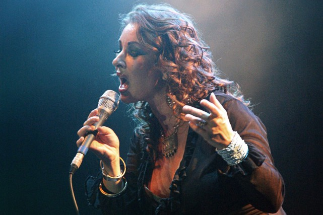 Natacha Atlas... (PHOTO ARCHIVES AFP)
