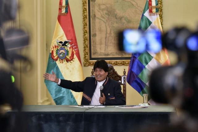 L'échec d'Evo Morales survient après plusieurs revers, ces... (PHOTO AFP)