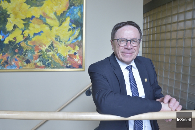 Le maire Gilles Lehouillier... (Photothèque Le Soleil, Jean-Marie Villeneuve)