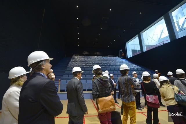 Le pavillon Lassonde comporte un auditorium de 250places... (Le Soleil, Yan Doublet)