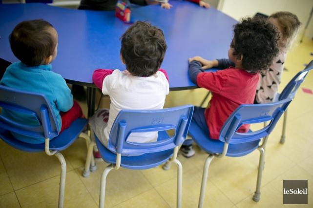 Au Québec, 26 % des enfants sont vulnérables dans un aspect ou l'autre de leur... (Photothèque Le Soleil)