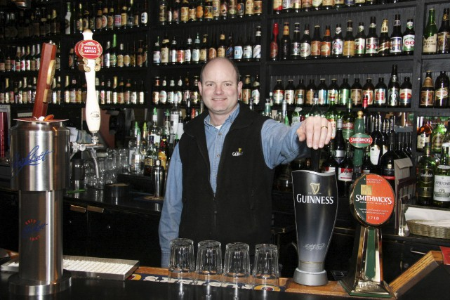 Paul Williams est le propriétaire du New Edinburgh... (Courtoisie, Jeff Arron)