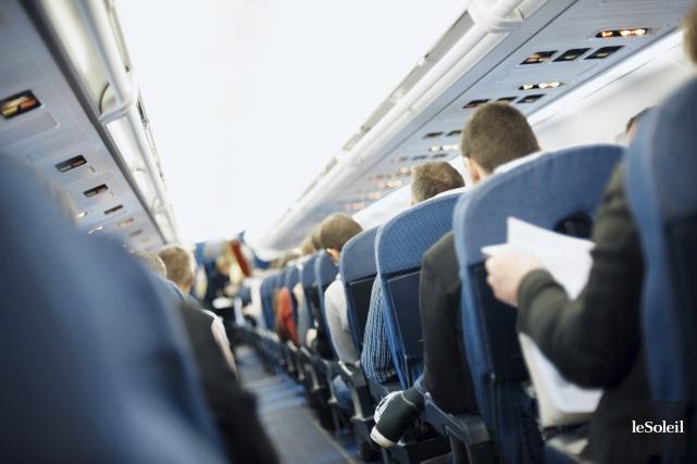 L'espacement entre les sièges, mesuré au même point... (Photothèque Le Soleil)