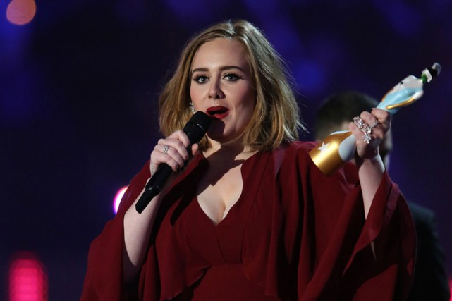 Adele... (PHOTO AFP)
