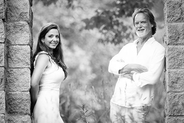 Mélisande Corriveau et Eric Milnes, le couple à... (fournie par Pierre-Étienne Bergeron)