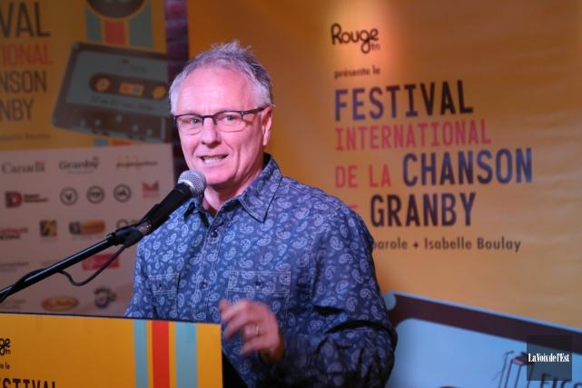 Le directeur général du Festival de la chanson... (Janick Marois, La Voix de l'Est)
