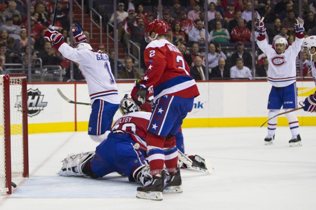 Relisez le clavardage du match entre le Canadien et les Capitals de Washington... (PHOTO PC)