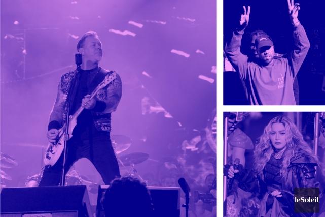 Metallica sort un album enregistré au Bataclan (Infographie Le Soleil)
